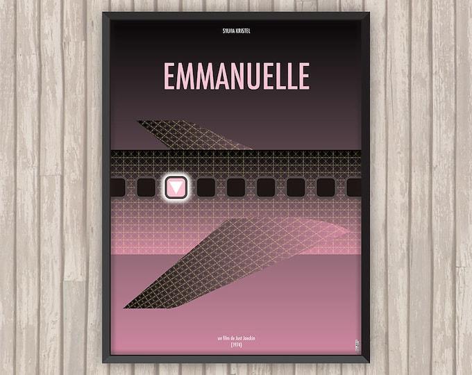 EMMANUELLE, l'affiche revisitée par Lino la Tomate !