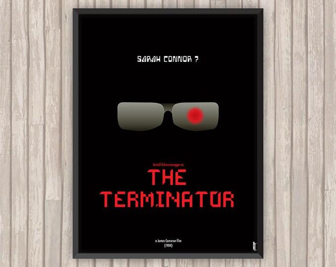 TERMINATOR (The Terminator), l'affiche revisitée par Lino la Tomate !