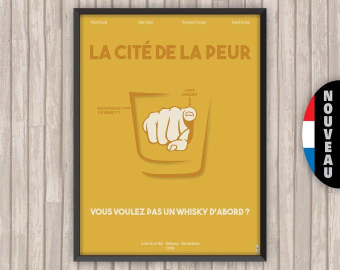 La Cité de la Peur, affiche (re)visitée (version Moutarde)