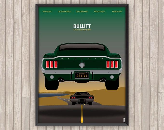 BULLITT, l'affiche revisitée par Lino la Tomate !