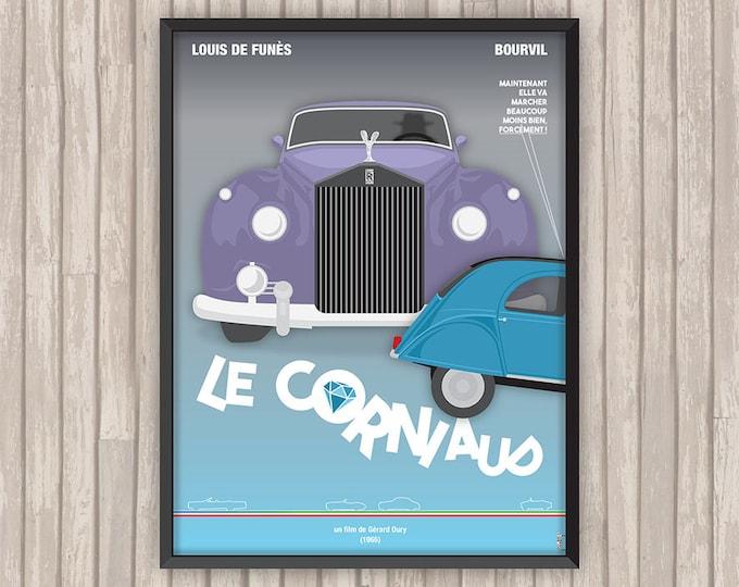 LE CORNIAUD, l'affiche revisitée par Lino la Tomate !