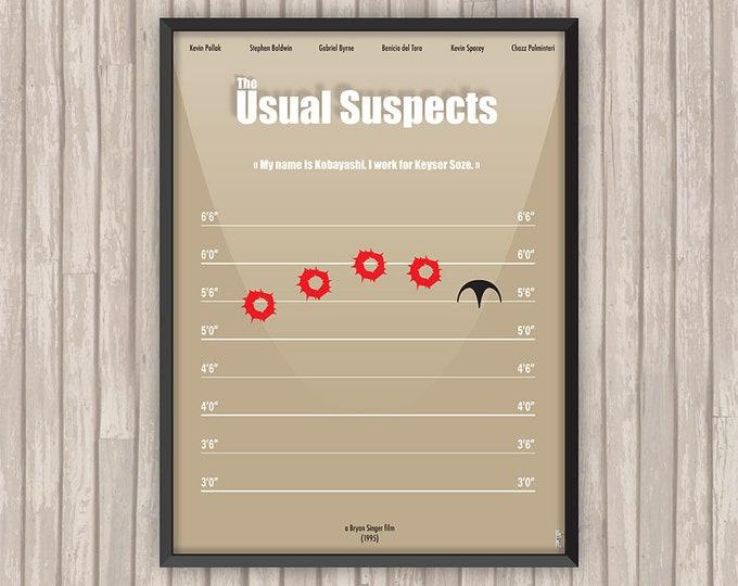 USUAL SUSPECTS (The Usual Suspects), l'affiche revisitée par Lino la Tomate !
