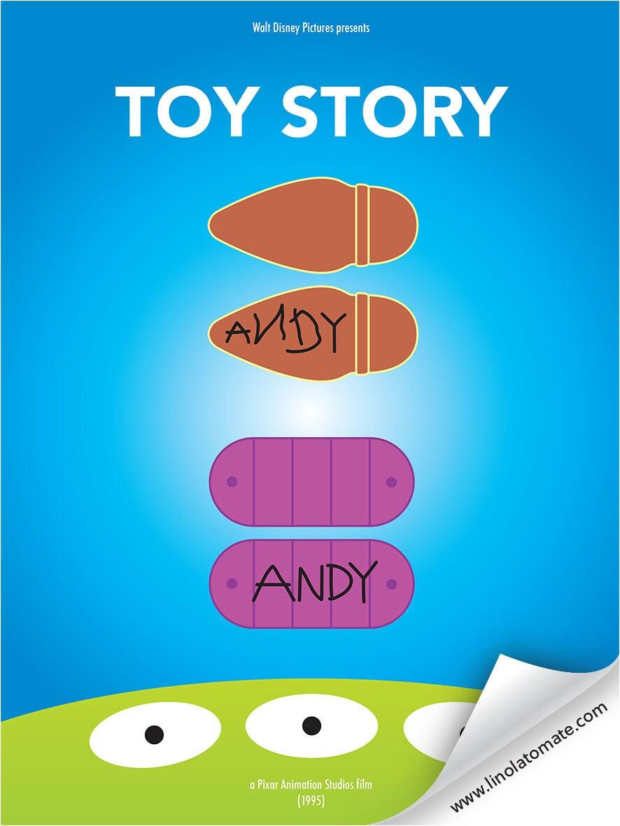 Toy Story L Affiche Revisit 233 E Par Lino La Tomate