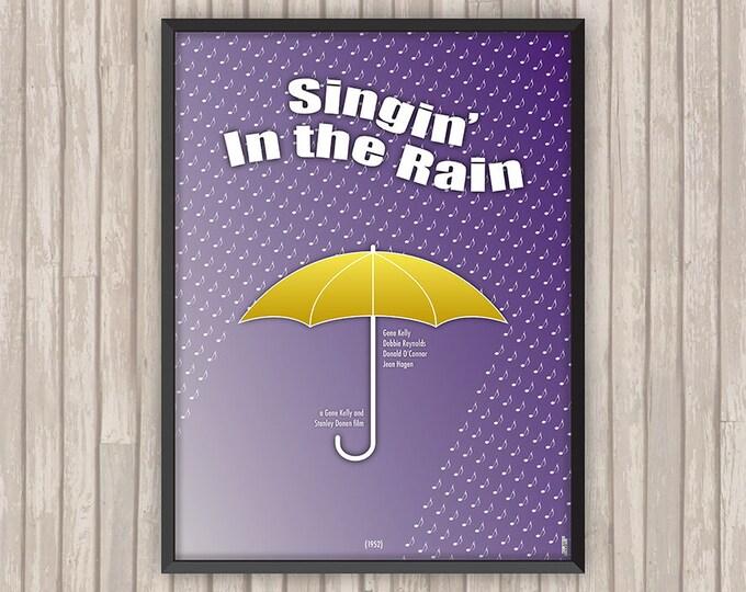 CHANTONS SOUS la PLUIE (Singin' in the Rain), l'affiche revisitée par Lino la Tomate !