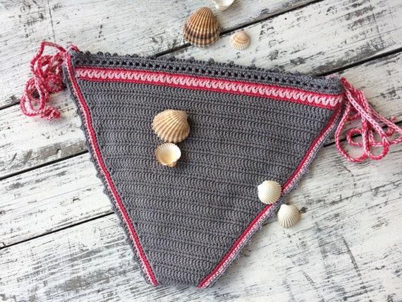 bikini Boho bikini Triangle bikini Crochet ZwUqExyUn
