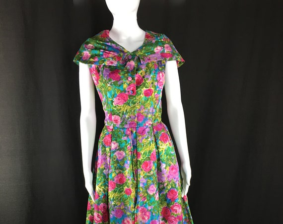 Blum's-Vogue Chicago Couture Museum Quality Monet Dress (SKU 10122CL)