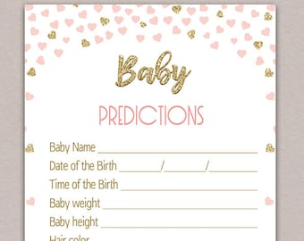 Predictions for baby | Etsy