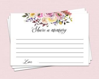 share a memory card memory cards share a memory printable etsy