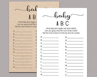 b20b3a15b1559 What was mommy wearing game Rustic Baby Shower games Memory | Etsy