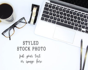 Download Free Styled stock photography background, Photo Background, styled stock photo, Mock up, Mockup, Instagram Photo, office, pen computer white desk PSD Template
