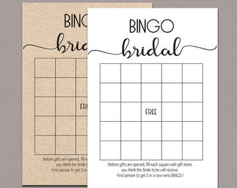bridal shower bingo cards bridal bingo cards bridal bingo printable bridal bingo game rustic bridal shower bingo game kraft games b11