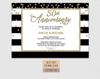 surprise anniversary party invitations surprise anniversary etsy