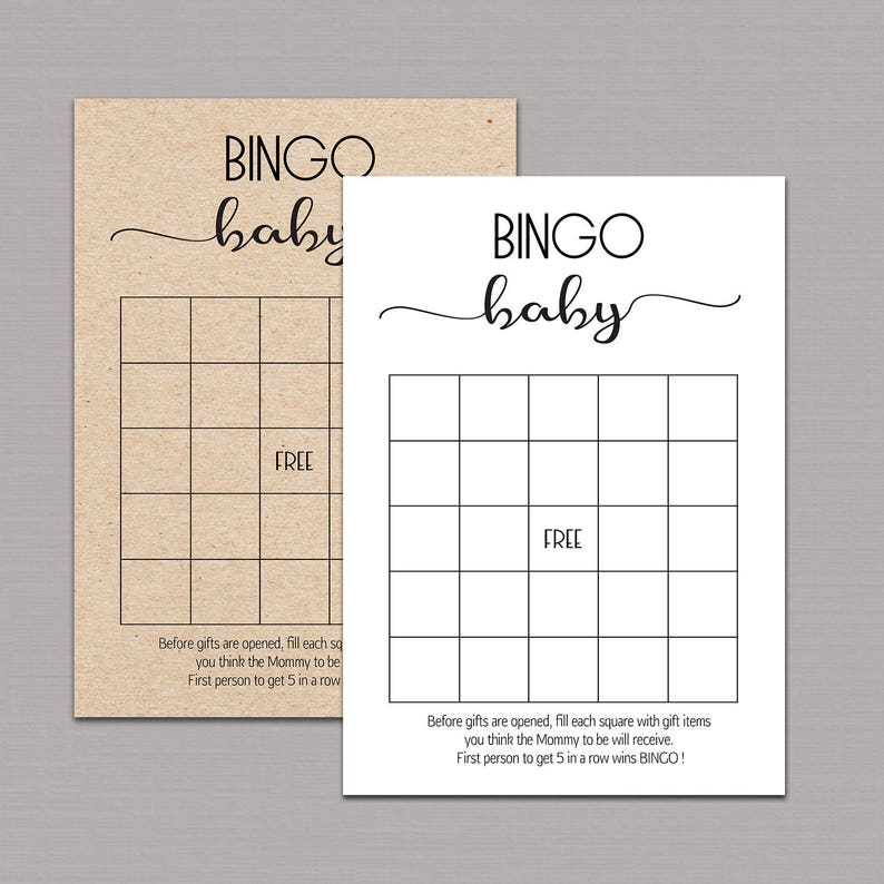 graphic relating to Baby Shower Bingo Cards Printable named Child Shower Bingo Playing cards, little one shower bingo printable, child bingo playing cards, youngster bingo sport, boy or girl shower bingo rustic sport, instantaneous down load B11