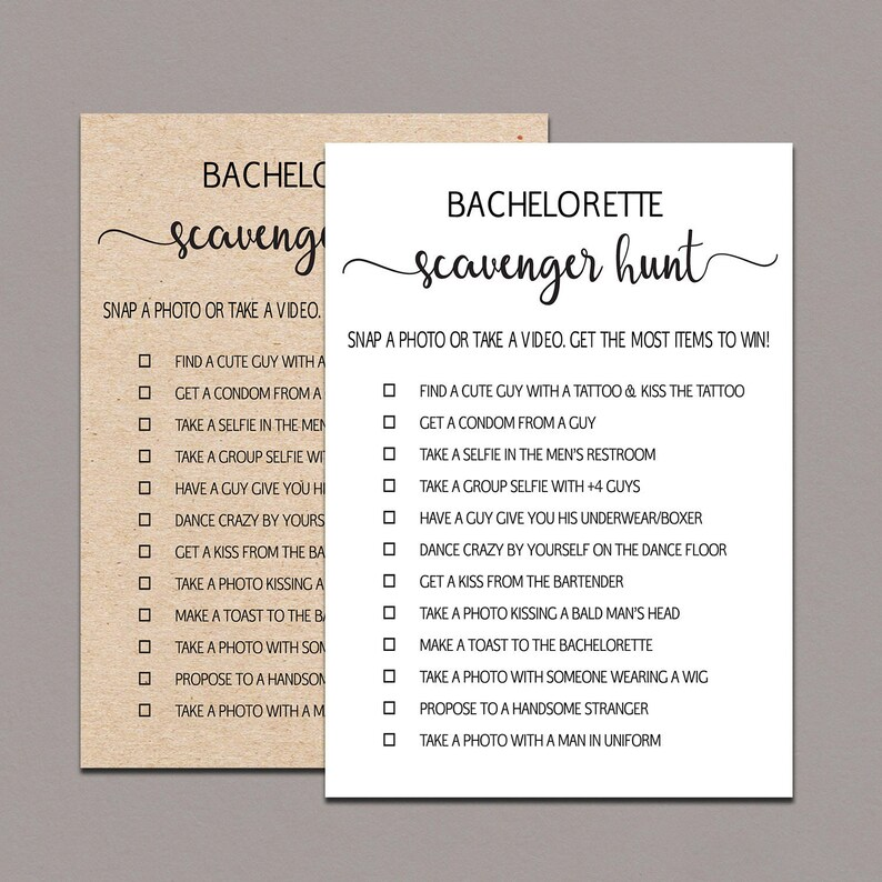 picture regarding Printable Bachelorette Scavenger Hunt named Bachelorette Scavenger Hunt, Printable Bachelorette Celebration Video games, Image Issue Sport, Bird Bash, Hens Night time Pleasurable Game titles, kraft, rustic B11