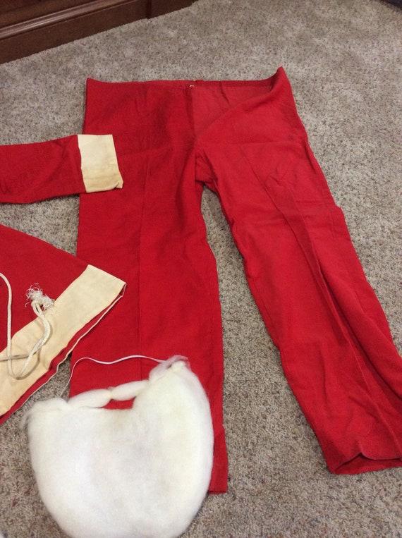 Vintage Santa suit | corduroy material | cotton b… - image 3