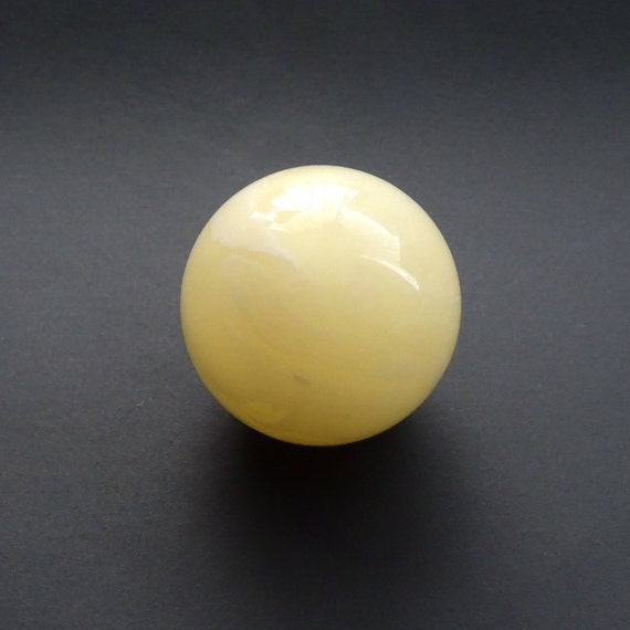 Amber Ball. Size ~ 20,37 mm. Without Hole. Weight ~ 4,78 g. 天然琥珀 #ET0259