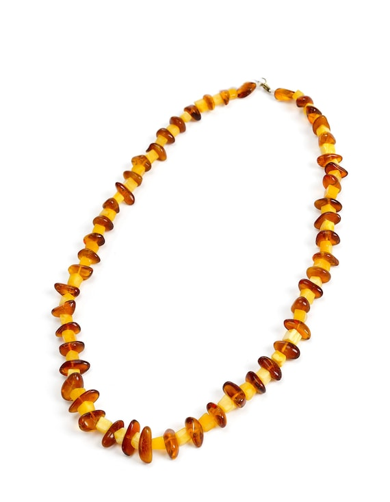 Baltic Amber necklace. Weight  32.8 g.