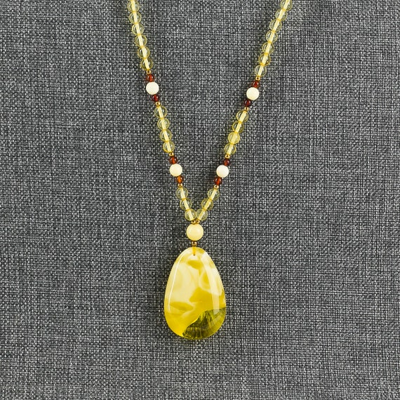 Baltic Amber Beautiful Necklace.天然琥珀, Amber Jewelry, Luxurious Amber Jewelry, Natural Amber
