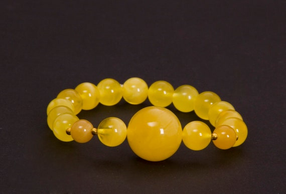 Baltic Amber Beautiful Bracelet. Weight ~ 13.6 g. 天然琥珀, Royal Amber Bracelet, Luxurious Amber Jewelry, Natural Amber #ET728008322