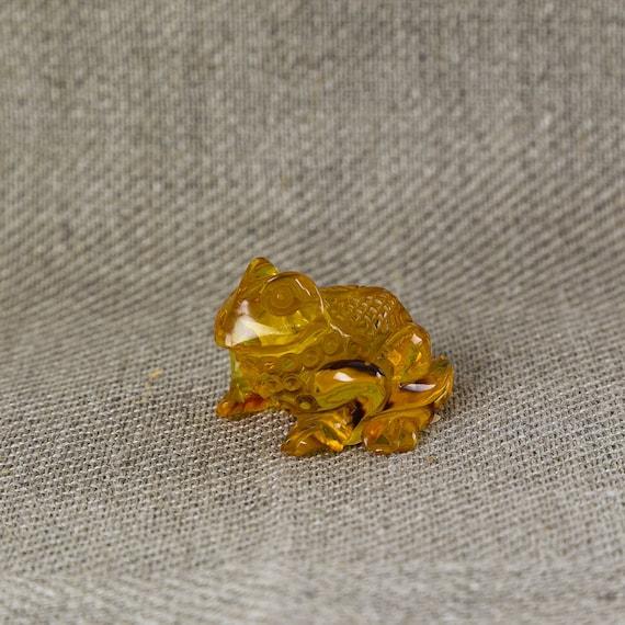 Frog cognac Weight 19g.