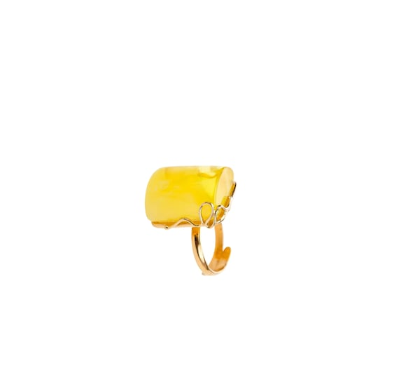 Baltic Amber Beautiful Silver (925) Ring 10.3 g. 天然琥珀, Amber Jewelry, Luxurious Amber Jewelry, Natural Amber, #ET728009710