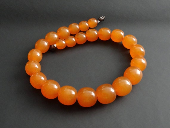 Baltic Amber Beautiful Vintage Beads. Old Pressed Amber. Weight ~ 51 g. 天然琥珀 #ET0342