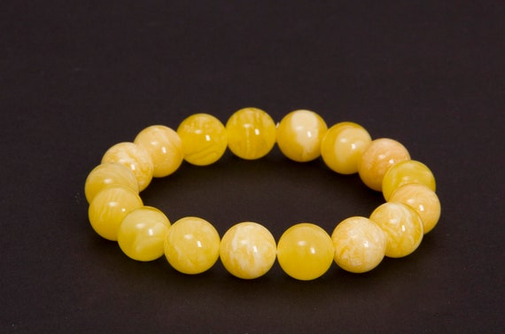 Baltic Amber Beautiful Bracelet. Weight ~ 13.5 g. 天然琥珀, Royal Amber Bracelet, Luxurious Amber Jewelry, Natural Amber #ET728007946