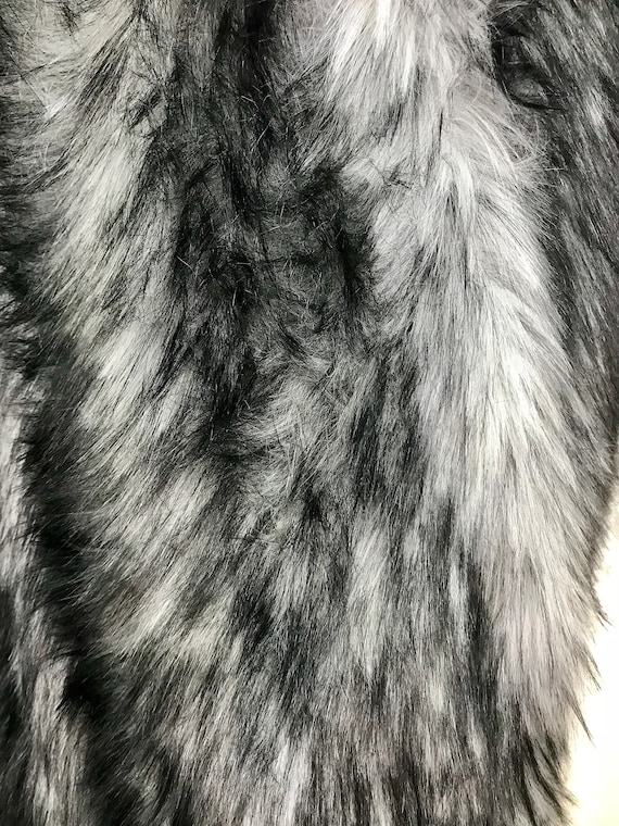 LONG PILE OATMEAL Super Luxury Faux Fur Fabric Material