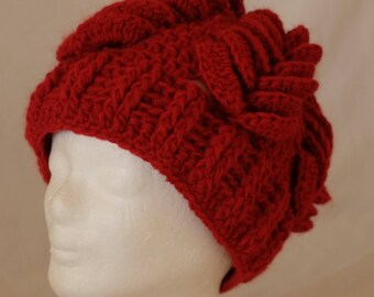 Pompous Bordeaux Red Cap