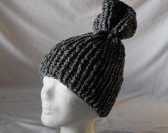 Self-manufactured Ribbon yarn crochet Hat