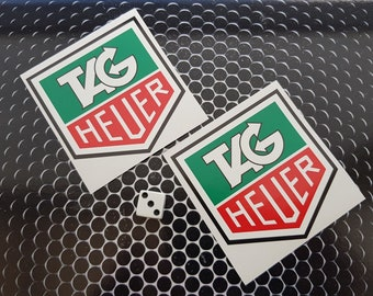 f7bf4ddd661 Tag Heuer Stickers High Quality 7-10 year vinly F1 classic