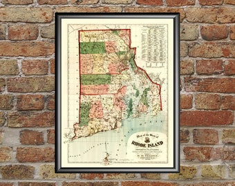 RHODE ISLAND VINTAGE PANORAMIC MAPS COLLECTION ON CD