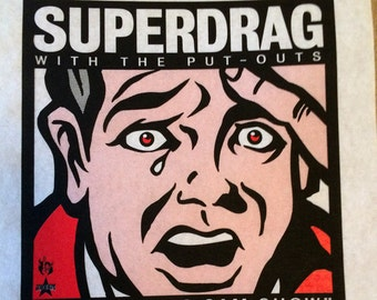 Superdrag screenprint poster 06-21-03
