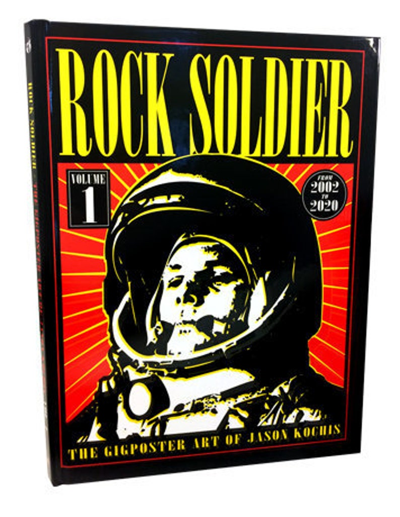 Rock Soldier Hardcover book image 0