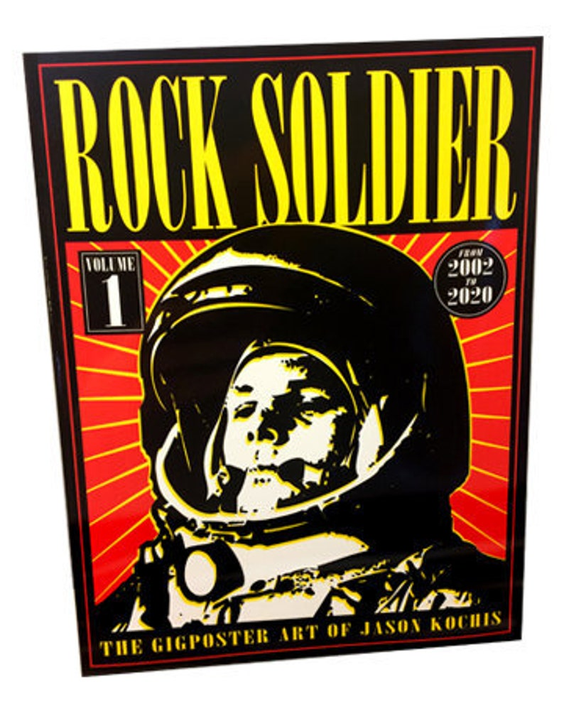 Rock Soldier Softcover Book image 0