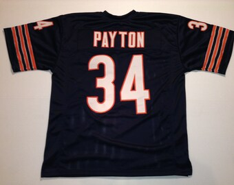 reputable site e906a 33840 Walter payton shirts | Etsy