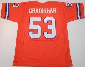 Denver Broncos Randy Gradishar UNSIGNED CUSTOM Made Orange Jersey 2d56c71b9