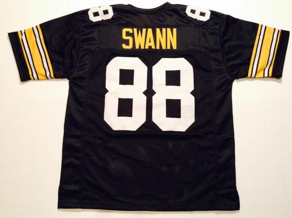 big sale c0907 23fa6 Pittsburgh Steelers Lynn Swann UNSIGNED CUSTOM Made Black Jersey