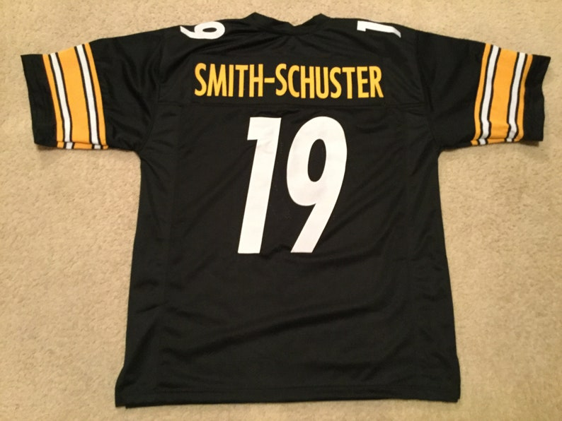 1feb652bf Pittsburgh Steelers JuJu Smith-Schuster UNSIGNED CUSTOM Made | Etsy