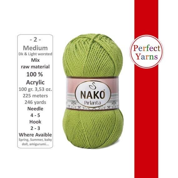 Nako Pırlanta 10722 | Nako Pırlanta Amigurumi ipi | Ayaz Yün | 570x570