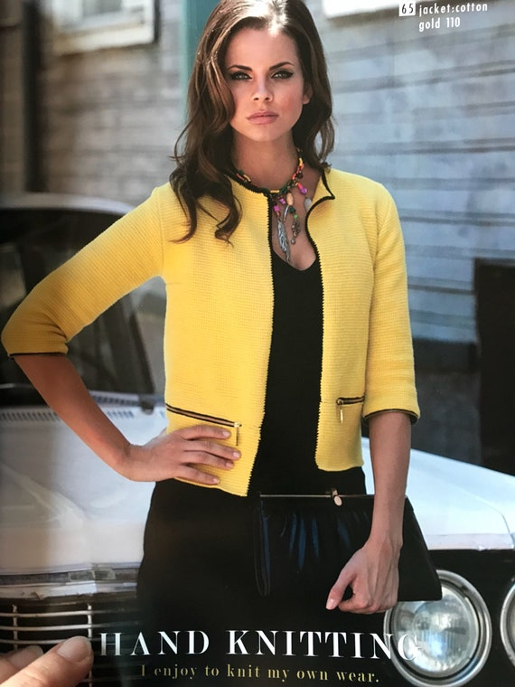 161 Modelle Muster-Magazin Alize Strickmuster | Etsy