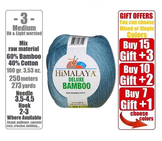 Himalaya Deluxe Bambus Hakelgarn Strickgarn Baby Garn Etsy
