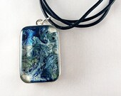 Two-Sided Pebeo Resin Necklace