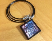 Dont Be a Square - Wear One! [Pebeo Resin Pendant]