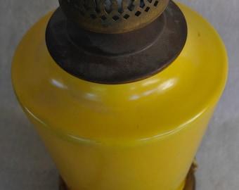 Catalina Sharp Shouldered Vase Lamp, Yellow
