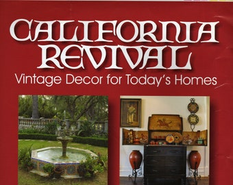California Revival: Vintage Decor for Today's Homes