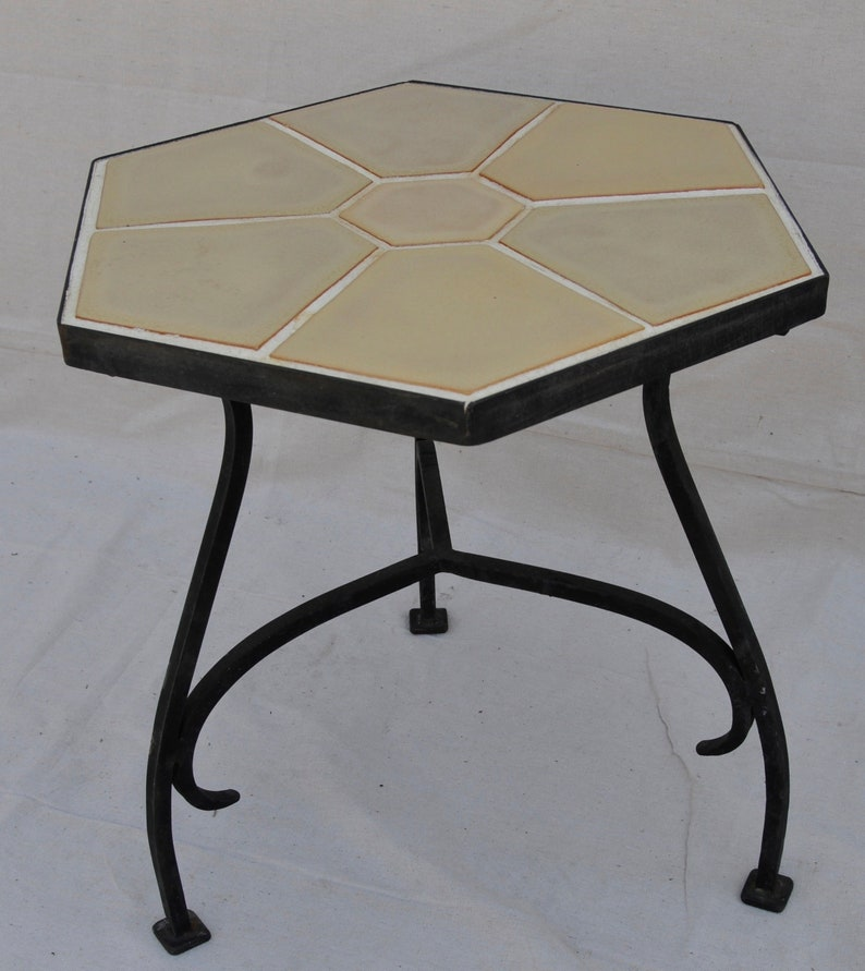 Catalina Tile Table Monterey Brown image 0