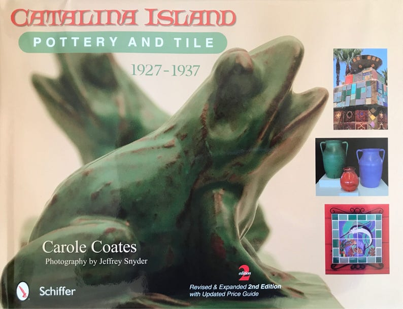 Catalina Island Pottery & Tile Book image 0