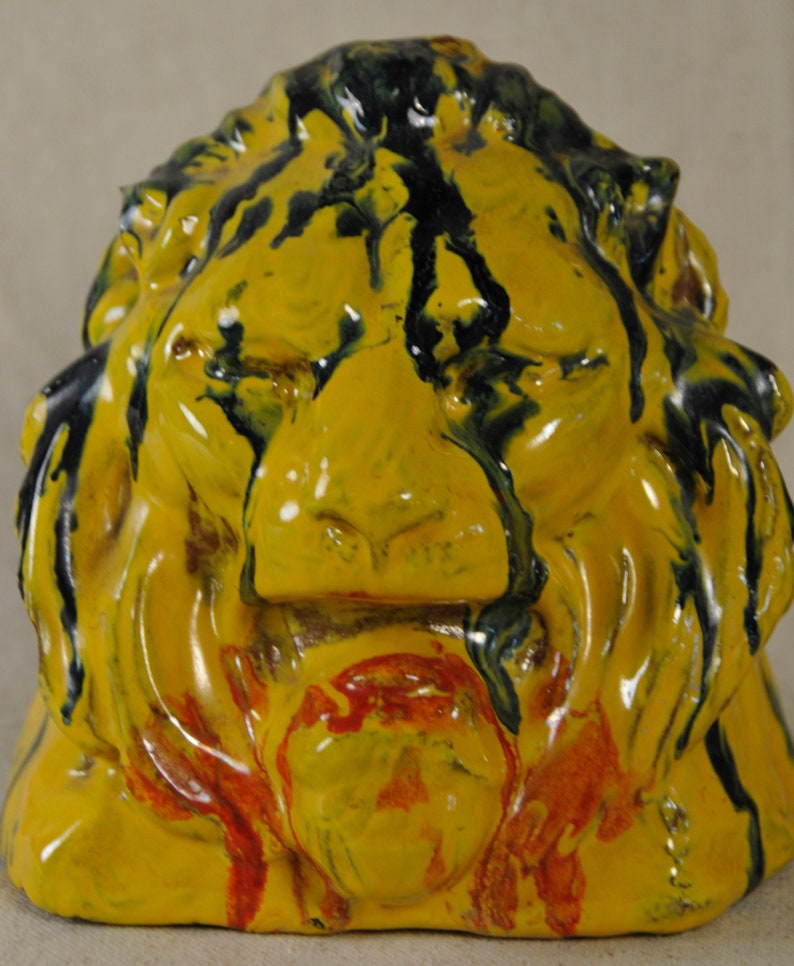 Catalina Blended Lion Bookends Pair image 0