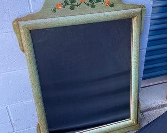 Monterey Mirror, Soft green & floral
